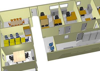 Notre expertise: laménagement de bureaux antilles bureaux