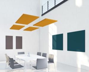 Panneaux acoustiques muraux et panneaux acoustiques suspendus