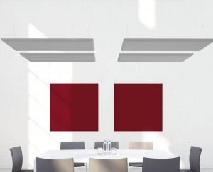 Panneaux acoustiques muraux et suspendus